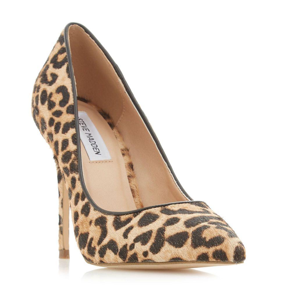 スティーブ マデン Steve Madden レディース シューズ・靴 パンプス【Daisiel Sm Animal Print Court Shoes】leopard