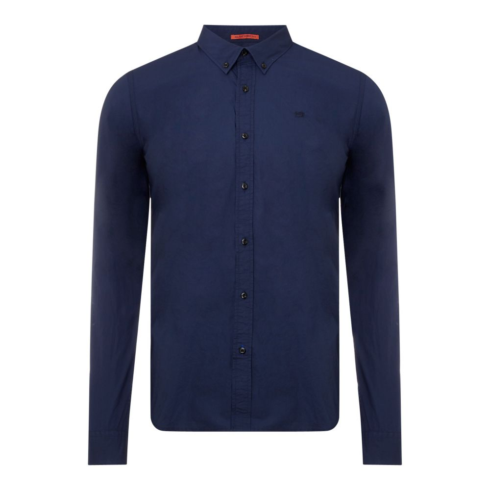 スコッチ&ソーダ Scotch & Soda メンズ トップス シャツ【Regular Fit Crispy Shirt】midnight blue