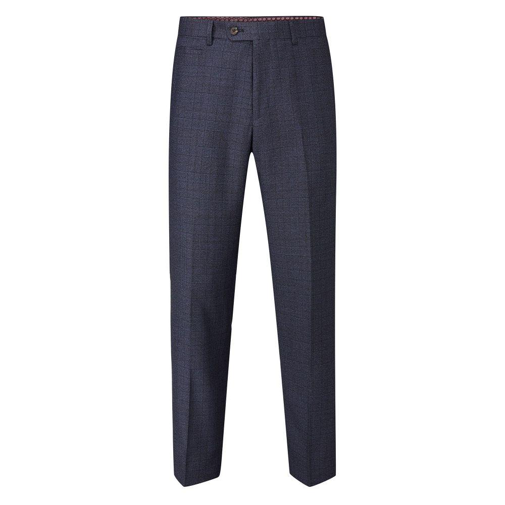 スコープス Skopes メンズ ボトムス・パンツ スラックス【Mcgrath Check Suit Tailored Trouser】navy