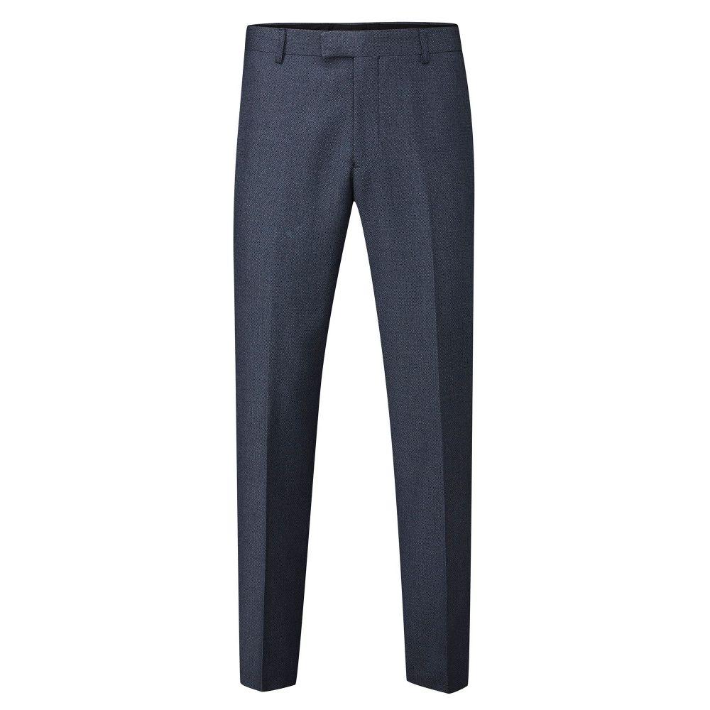 スコープス Skopes メンズ ボトムス・パンツ スラックス【Tailored Harcourt Suit Slim Trouser】navy