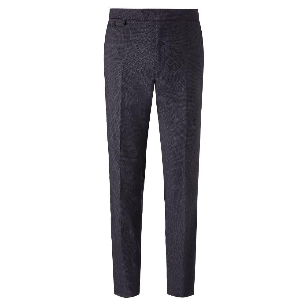 チェスター バリー Chester Barrie メンズ ボトムス・パンツ スラックス【Mini Texture Traveller Plus Suit Trousers】navy