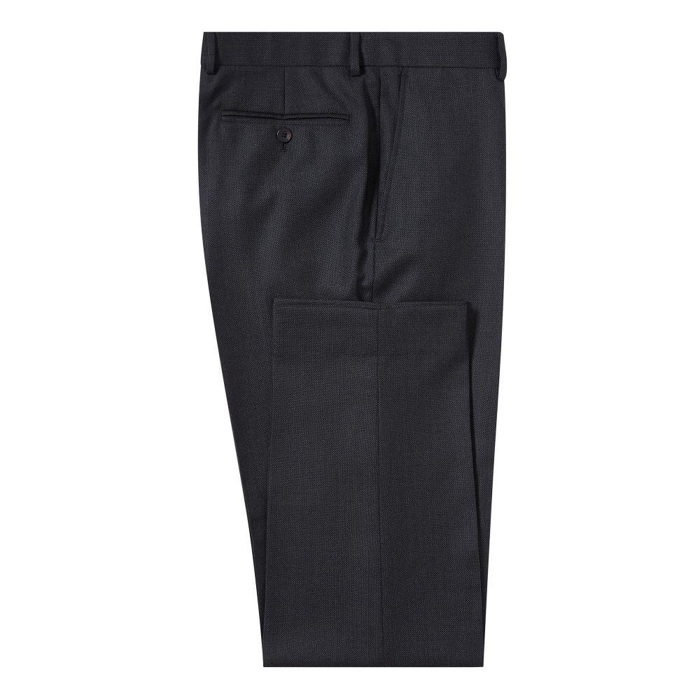 チェスター バリー Chester Barrie メンズ ボトムス・パンツ スラックス【Classic Birdseye Suit Trouser】charcoal