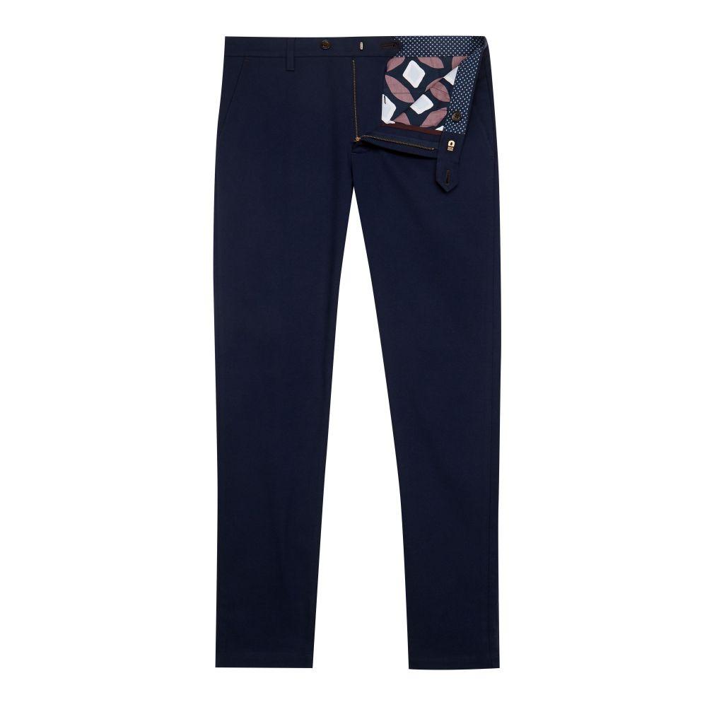 テッドベーカー Ted Baker メンズ ボトムス・パンツ スラックス【Sempln Brushed Semi-plain Trousers】navy