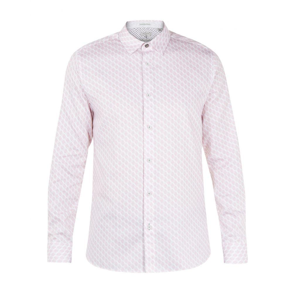 テッドベーカー Ted Baker メンズ トップス シャツ【Pimlico Ls Geo Shirt】pink