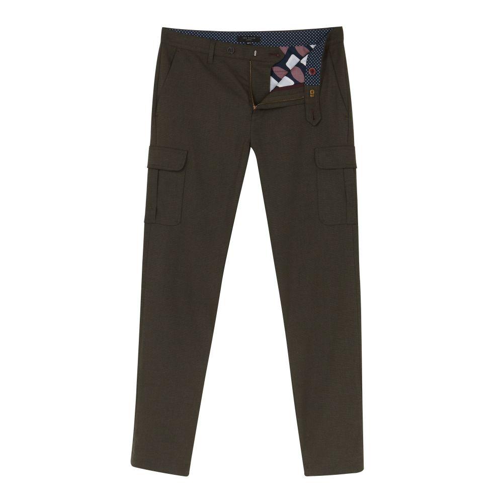 テッドベーカー Ted Baker メンズ ボトムス・パンツ スラックス【Zakery Slim Utility Pocket Trousers】khaki