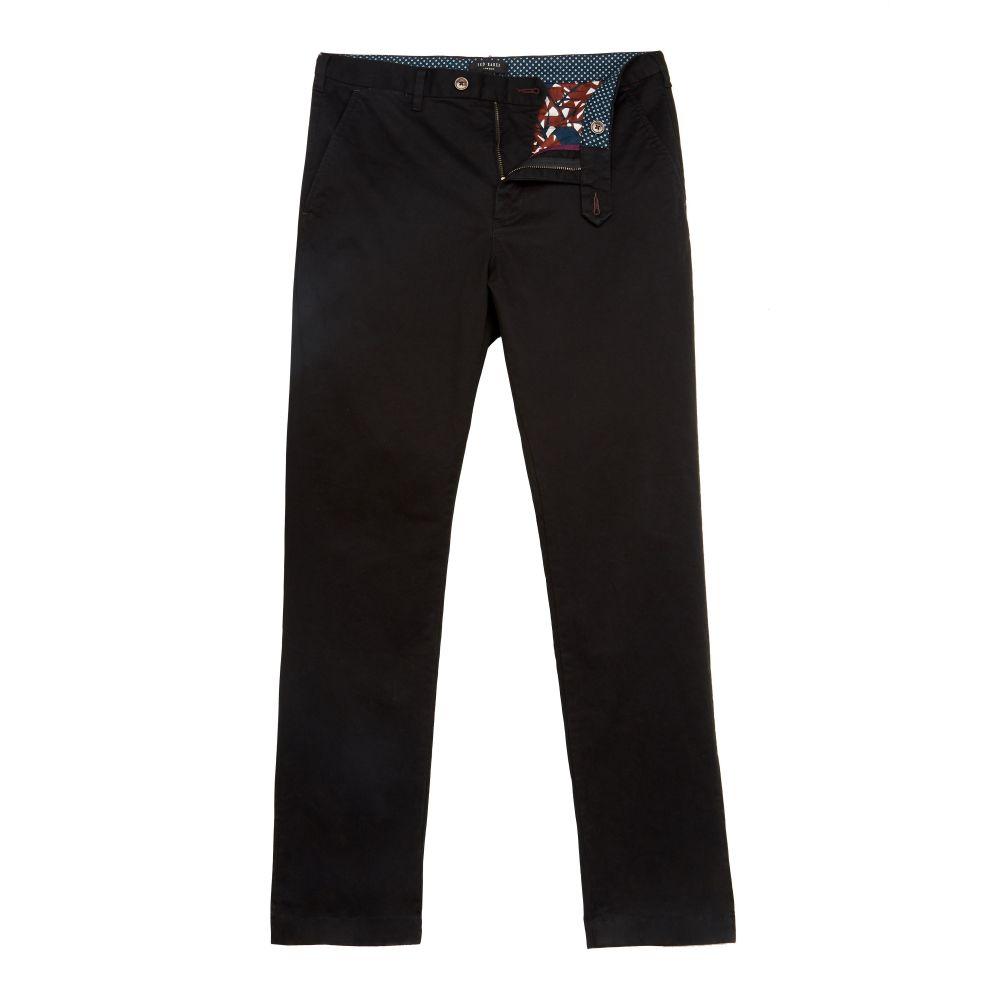 テッドベーカー Ted Baker メンズ ボトムス・パンツ チノパン【Classleb Classic Fit Cotton Chinos】black