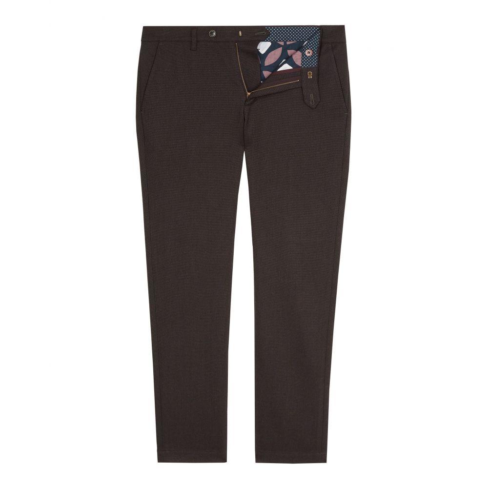 テッドベーカー Ted Baker メンズ ボトムス・パンツ チノパン【Willham Slim Fit Textured Trousers】purple