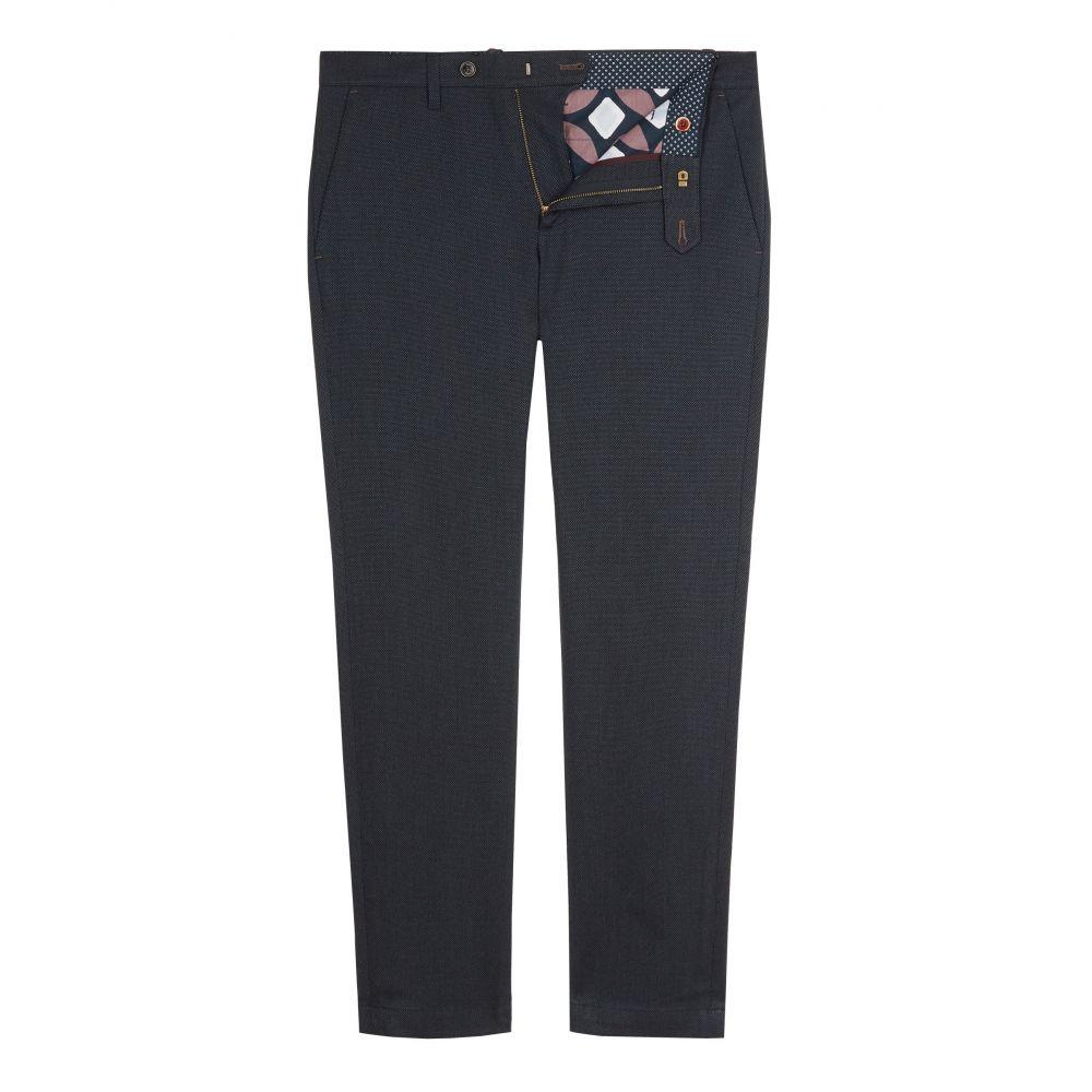テッドベーカー Ted Baker メンズ ボトムス・パンツ チノパン【Willham Slim Fit Textured Trousers】navy