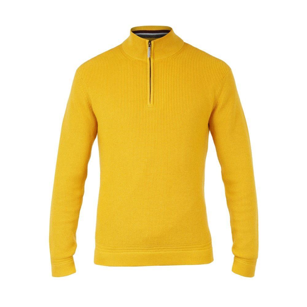 テッドベーカー Ted Baker メンズ トップス ニット・セーター【Lohas Ls Half Zip Funnel Neck】yellow