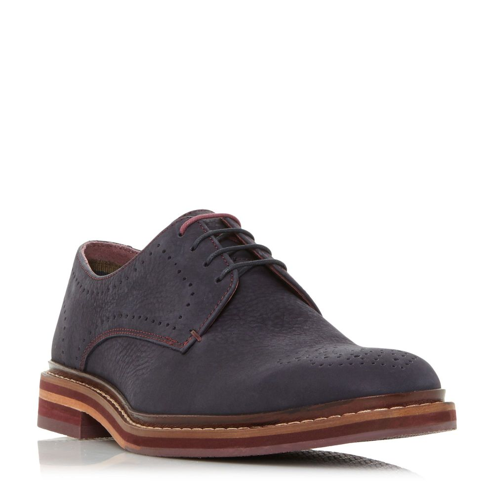 テッドベーカー Ted Baker メンズ シューズ・靴 革靴・ビジネスシューズ【Zigee Brogues】navy