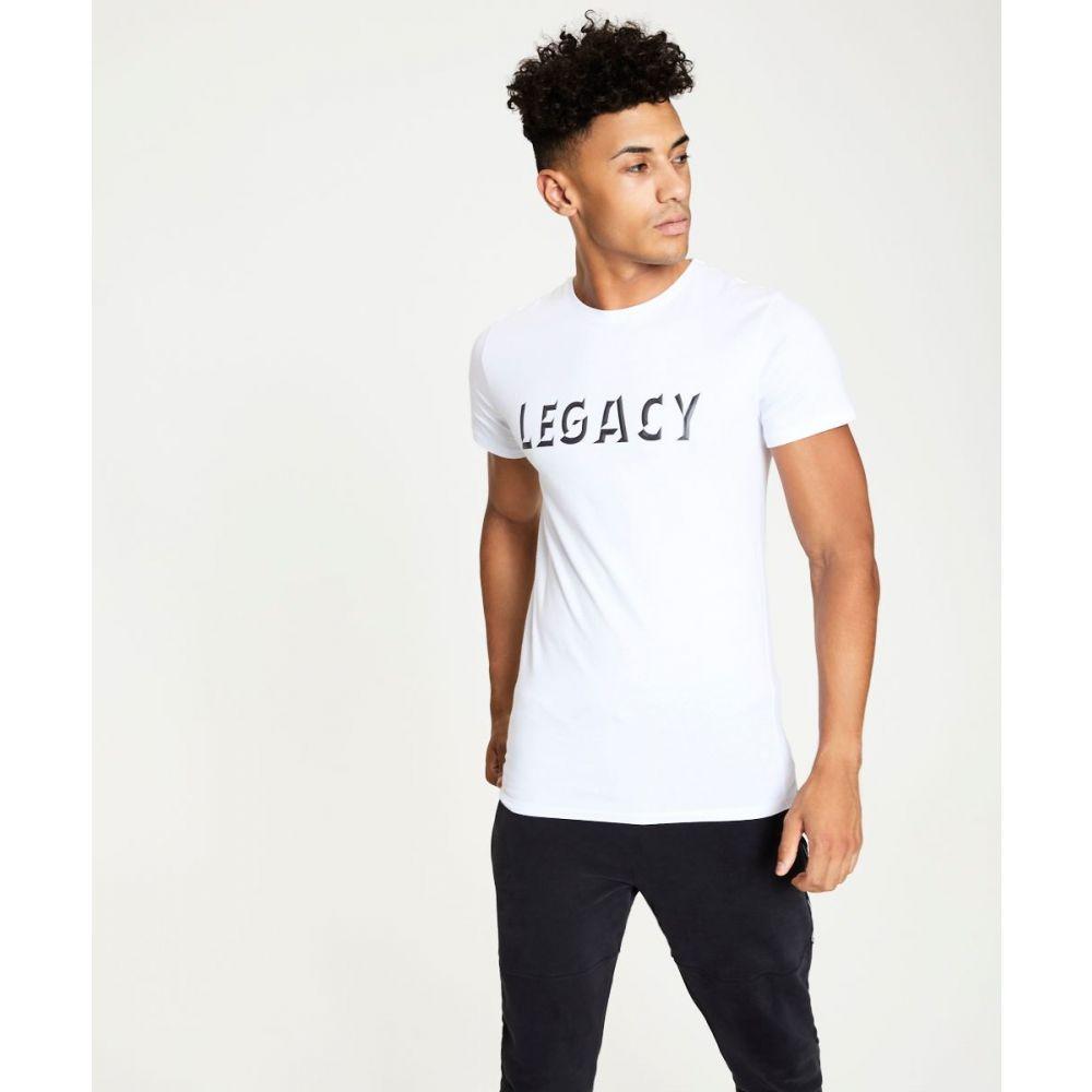 デッドレガシー Dead Legacy メンズ トップス Tシャツ【3d Printed T-shirt】white