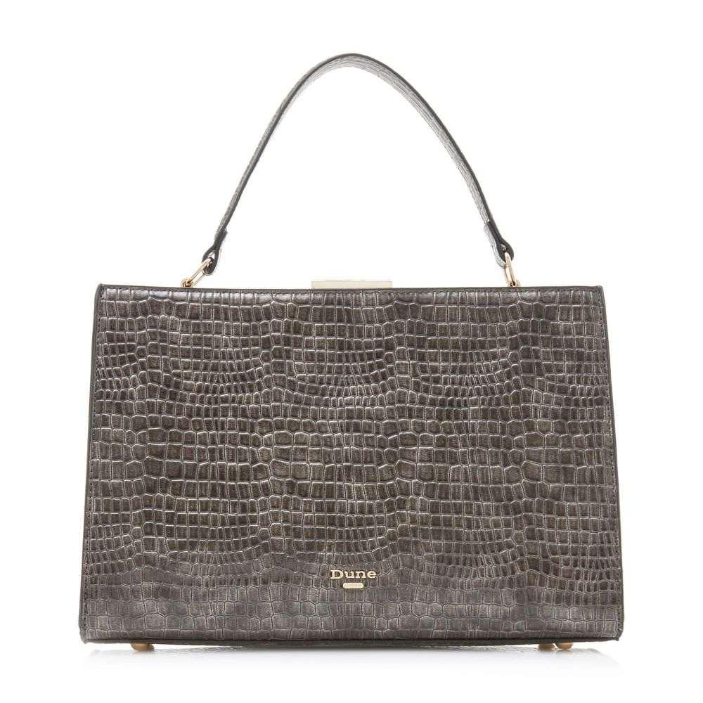 デューン Dune レディース バッグ トートバッグ【Dlady Small Slim Frame Bag】grey