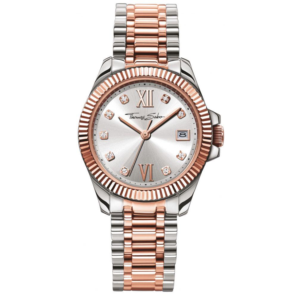 トーマスサボ Thomas Sabo レディース 腕時計【Glam & Soul Stainless Steel Watch】