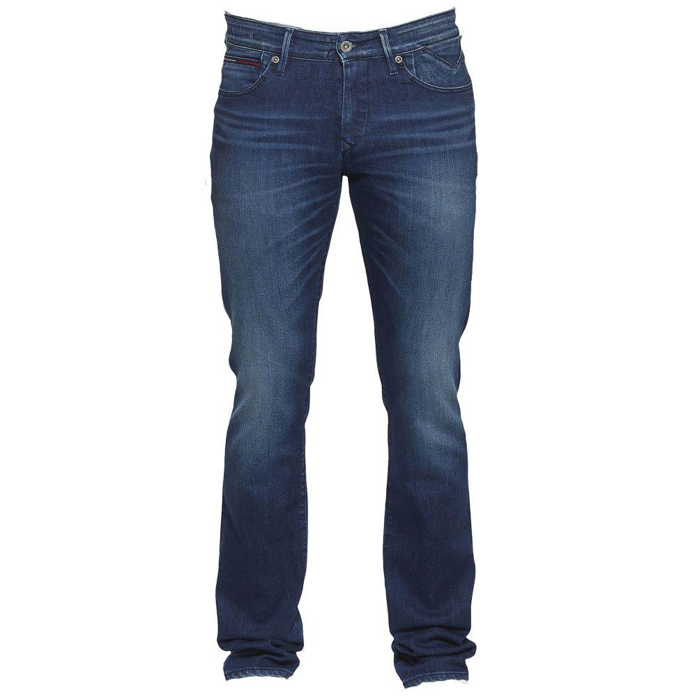 トミー ヒルフィガー Tommy Hilfiger メンズ ボトムス・パンツ ジーンズ・デニム【Slim Scanton Protect Dark Comfort Jeans】blue