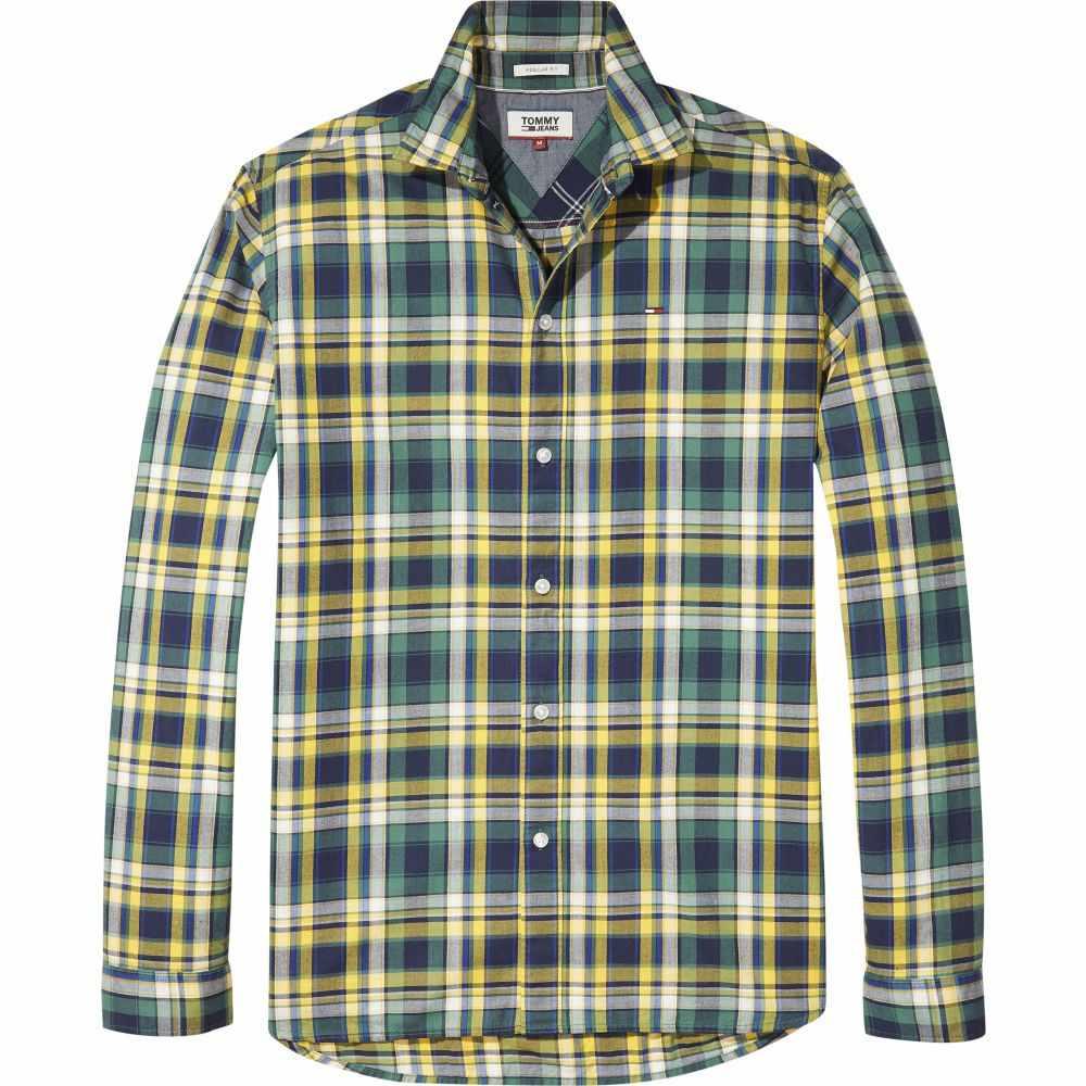 トミー ヒルフィガー Tommy Hilfiger メンズ トップス シャツ【Tommy Jeans Check Shirt】yellow