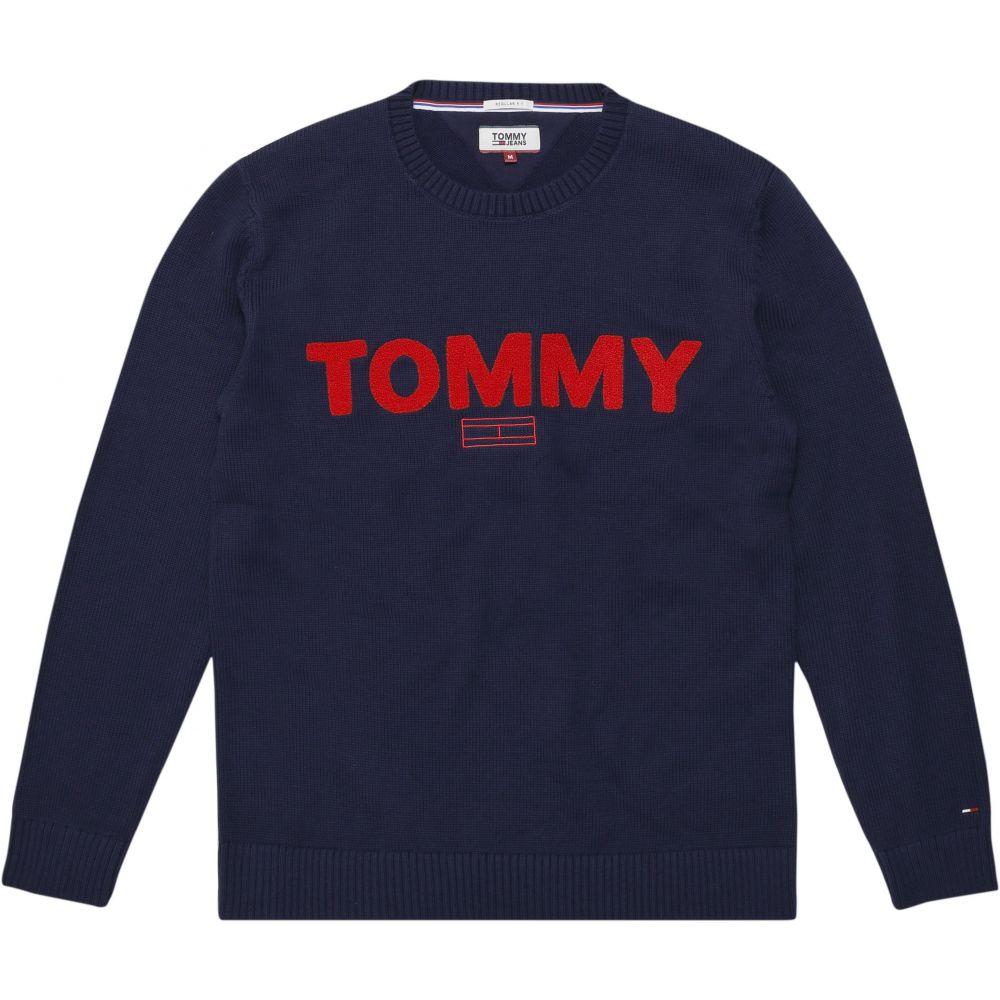 トミー ヒルフィガー Tommy Hilfiger メンズ トップス スウェット・トレーナー【Tommy Jeans Bold Logo Sweatshirt】dark blue