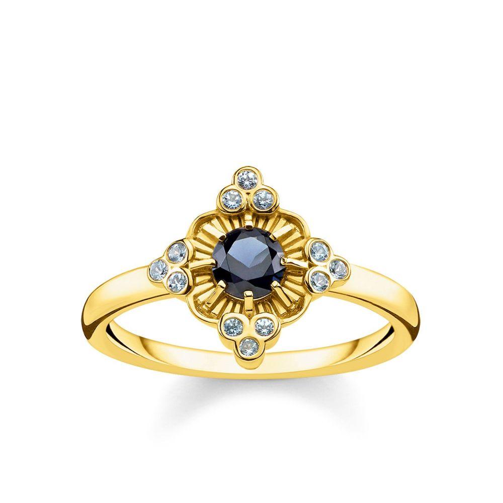トーマスサボ Thomas Sabo レディース ジュエリー・アクセサリー 指輪・リング【Gold Kingdom Of Dreams Flower Ring】multi-coloured