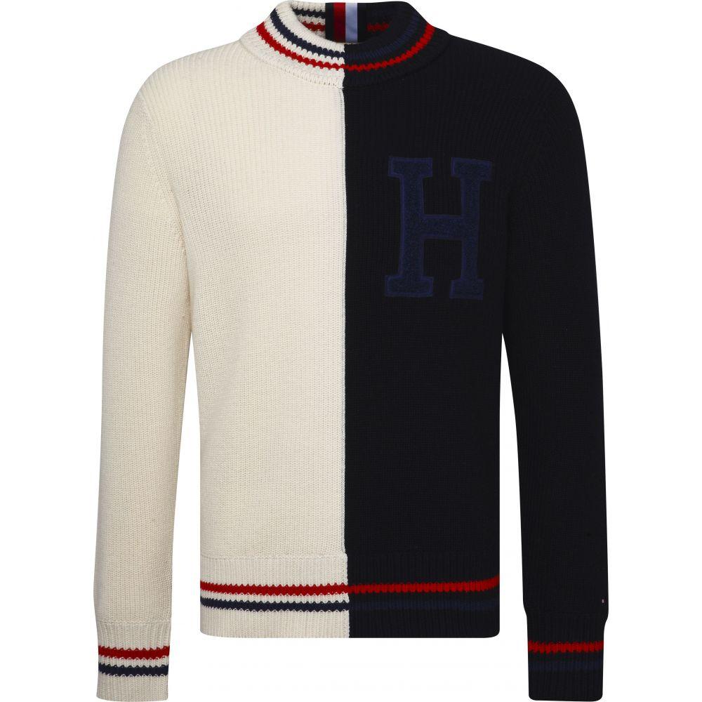 トミー ヒルフィガー Tommy Hilfiger メンズ トップス ニット・セーター【Relaxed Cricket Logo Sweater】multi-coloured