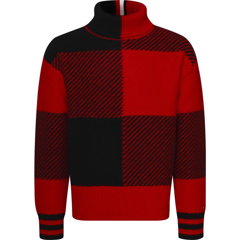トミー ヒルフィガー Tommy Hilfiger メンズ トップス ニット・セーター【Bold Check Oversized Sweater】multi-coloured