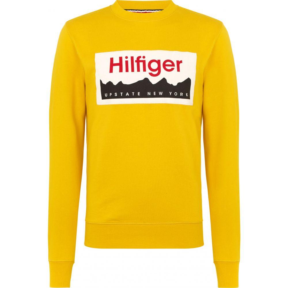 トミー ヒルフィガー Tommy Hilfiger メンズ トップス スウェット・トレーナー【Hilfiger Graphic Print Sweatshirt】yellow