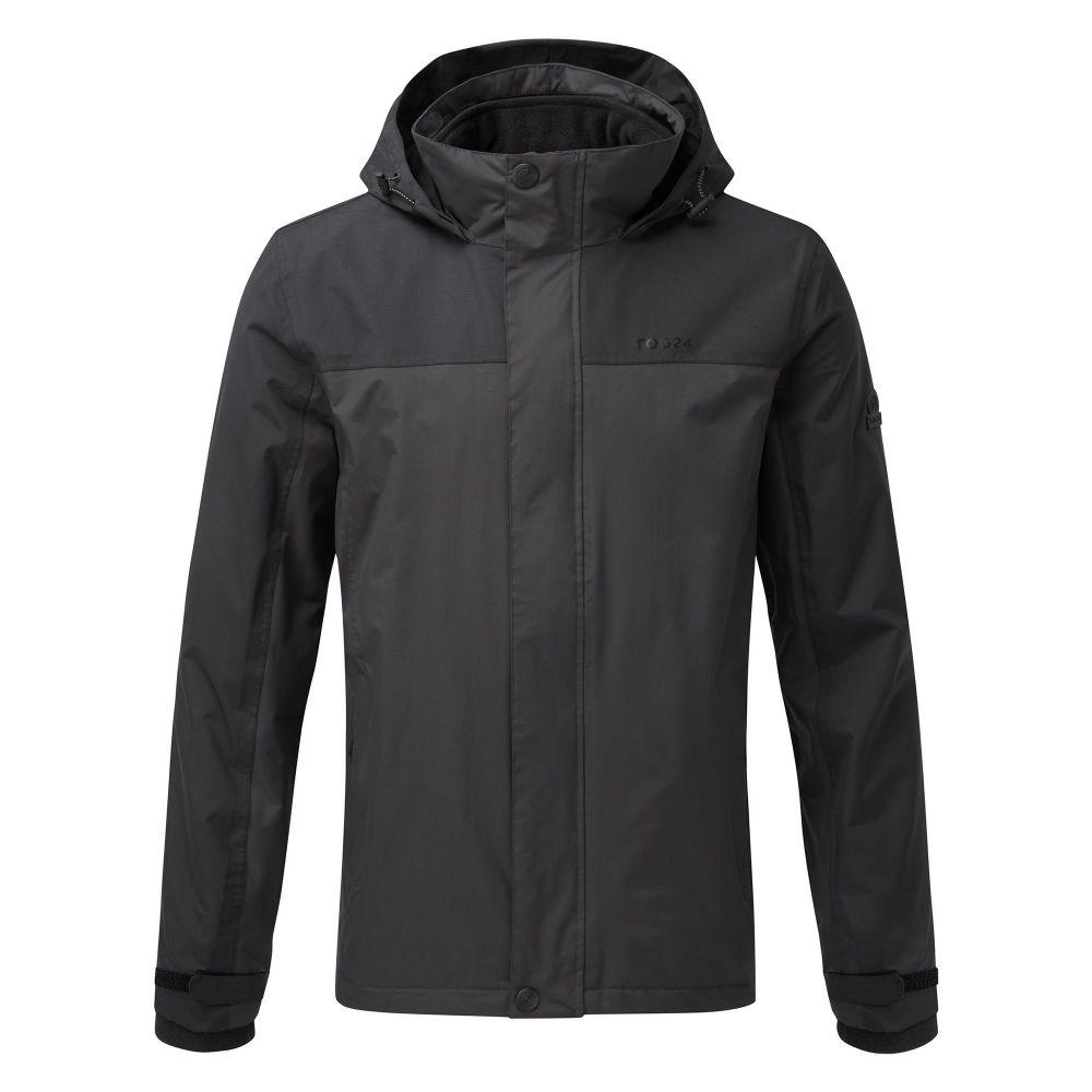 トッグ24 Tog 24 メンズ アウター コート【Gambit Waterproof 3in1 Jacket】black & grey