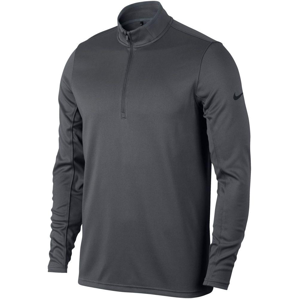 ナイキ Nike メンズ トップス ニット・セーター【Dri-fit Half -zip Jumper】dark grey
