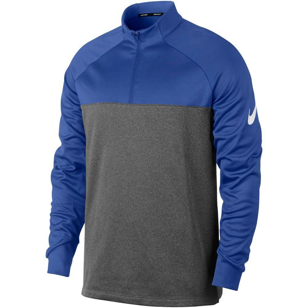 ナイキ Nike メンズ トップス【Therma Block Half Zip Jumper】royal blue