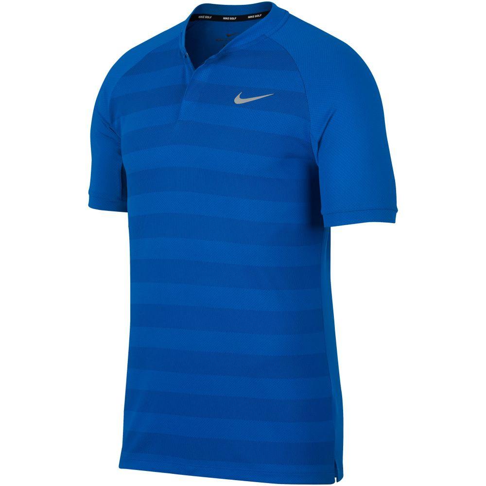ナイキ Nike メンズ トップス ポロシャツ【Momentum Stripe Blade Polo】blue