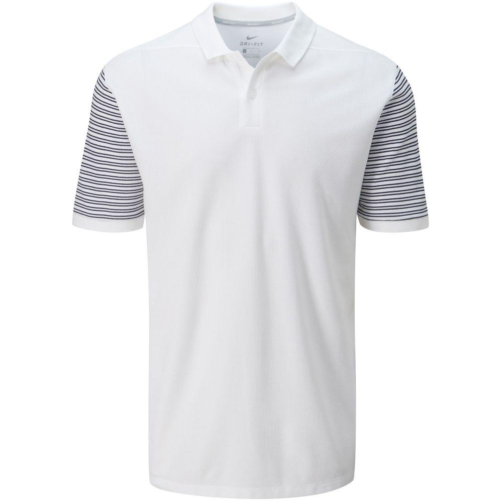 ナイキ Nike メンズ トップス ポロシャツ【Classic Stripe Polo】white