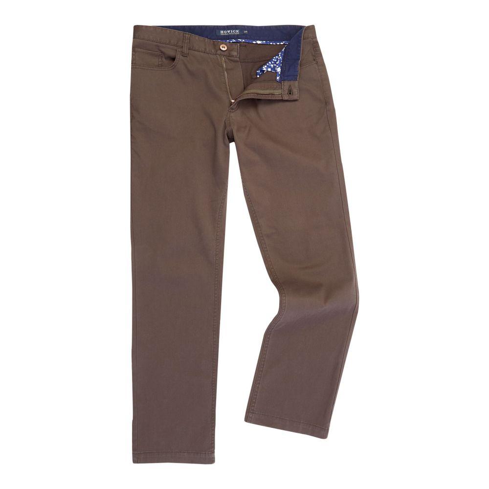ハウィック Howick メンズ ボトムス・パンツ【Ashland Bedford Cord Trouser】green