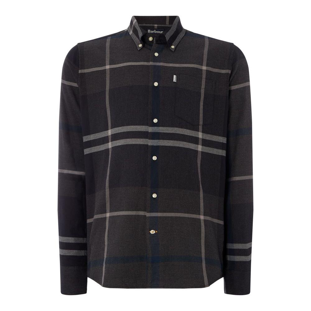 バーブァー Barbour メンズ トップス シャツ【Dunoon Shirt】graphite