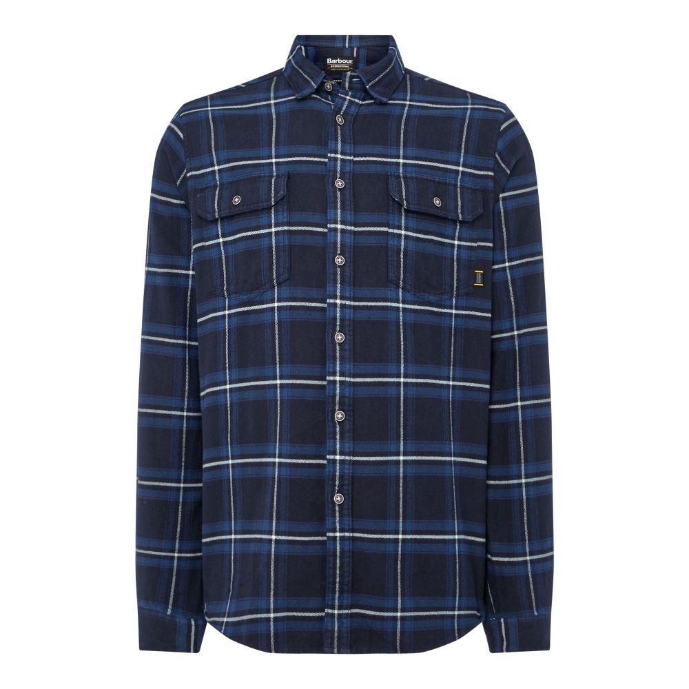 バーブァー Barbour メンズ トップス シャツ【Dash Shirt】navy
