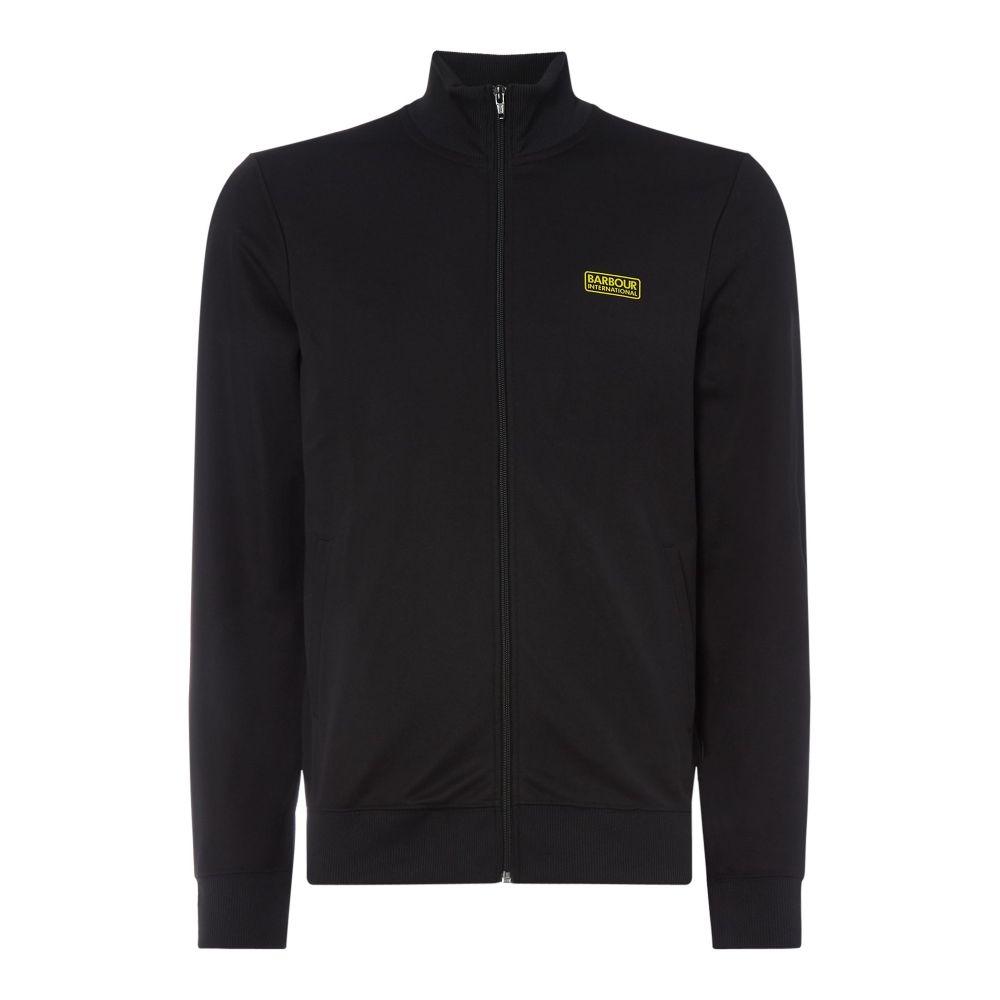 バーブァー Barbour メンズ トップス スウェット・トレーナー【Essential Track Sweatshirt】black