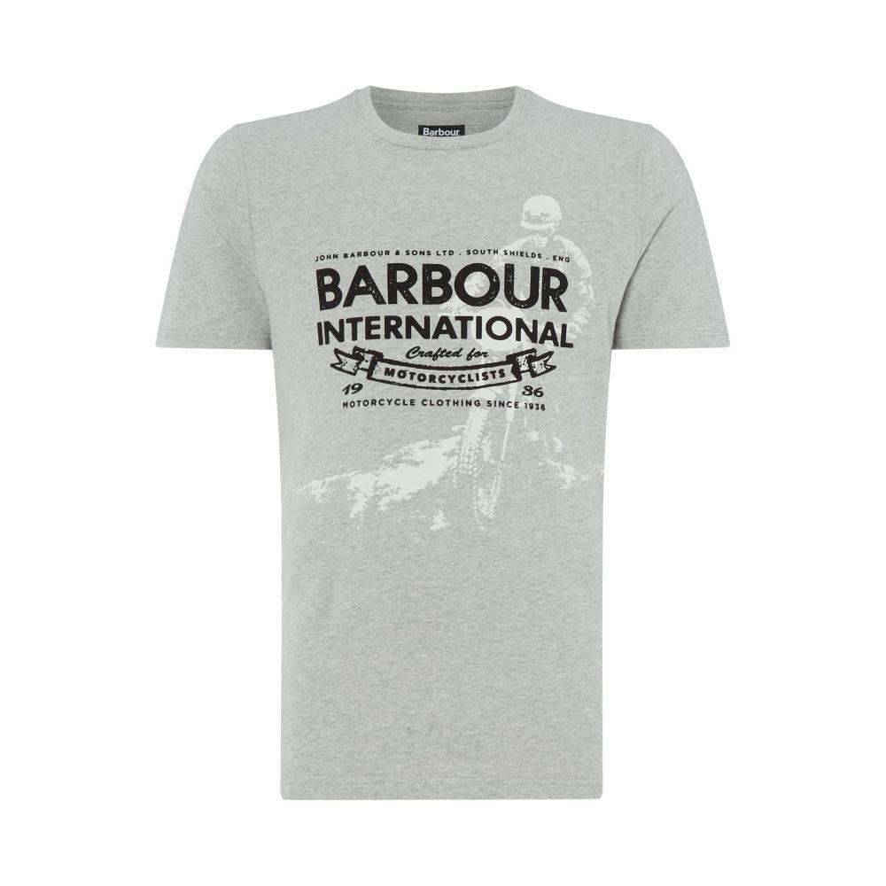 バーブァー Barbour メンズ トップス Tシャツ【Hydrometer T Shirt】grey