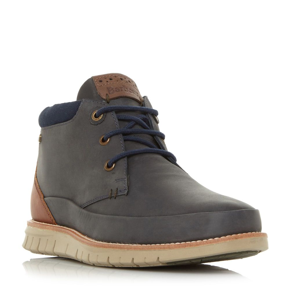 Chukka バーブァー Boots】navy シューズ・靴 Barbour Lace メンズ ブーツ【Nelson2 Up