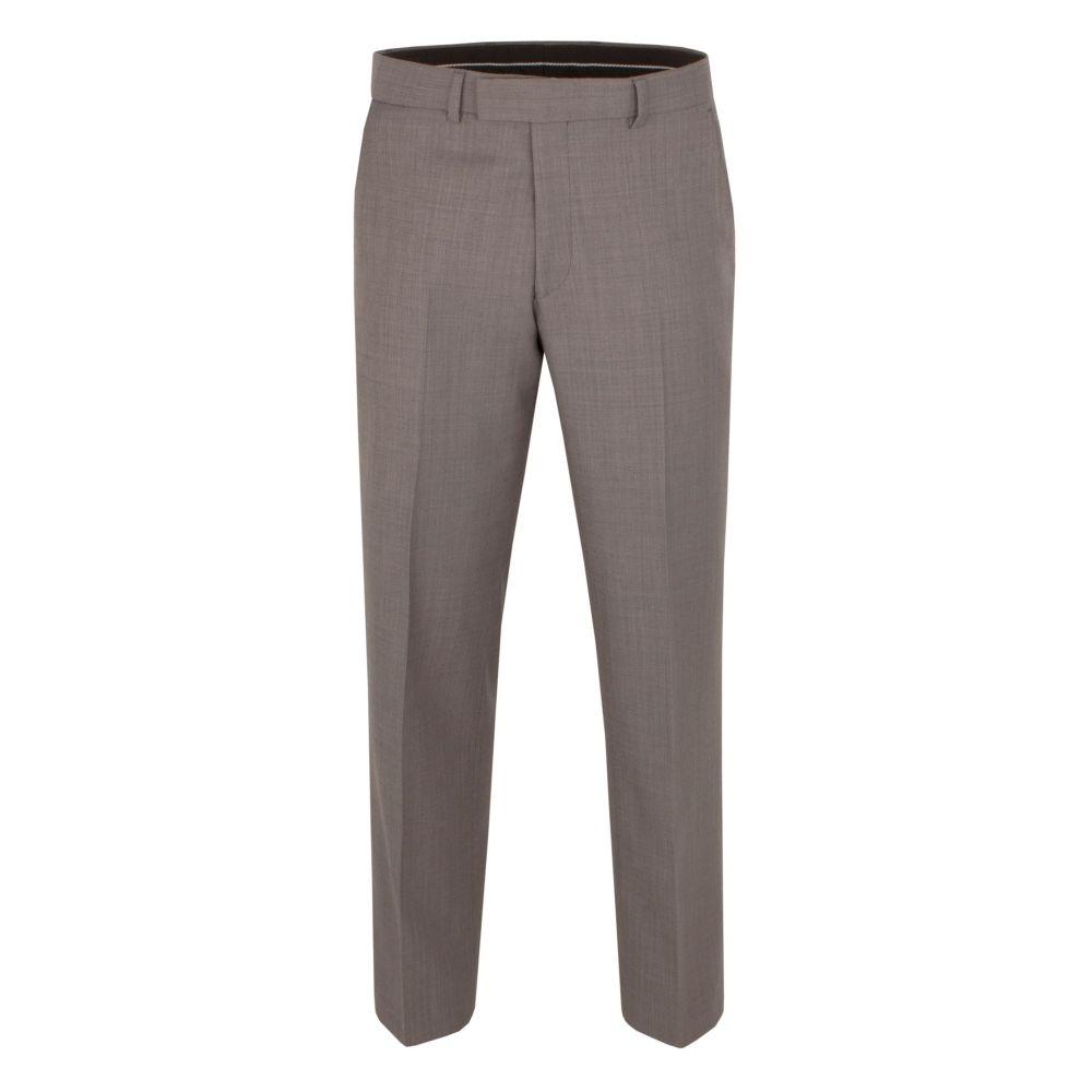 ピエール カルダン Pierre Cardin メンズ ボトムス・パンツ スラックス【Glenfinnan Regular Fit Trouser】taupe