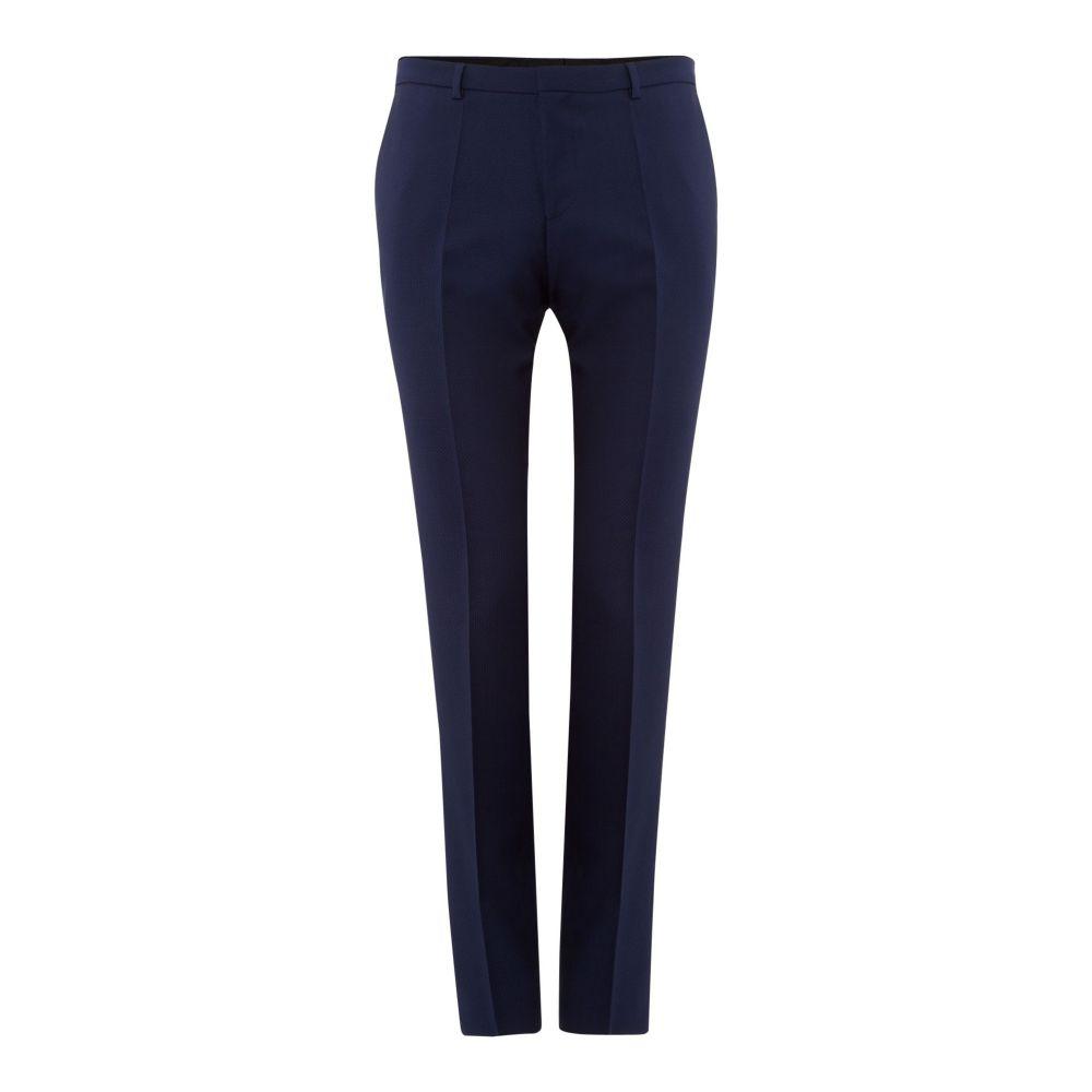 ヒューゴ ボス Hugo メンズ ボトムス・パンツ スラックス【Hetts Extra Slim Felix Structure 2pc Suit Trouser】blue