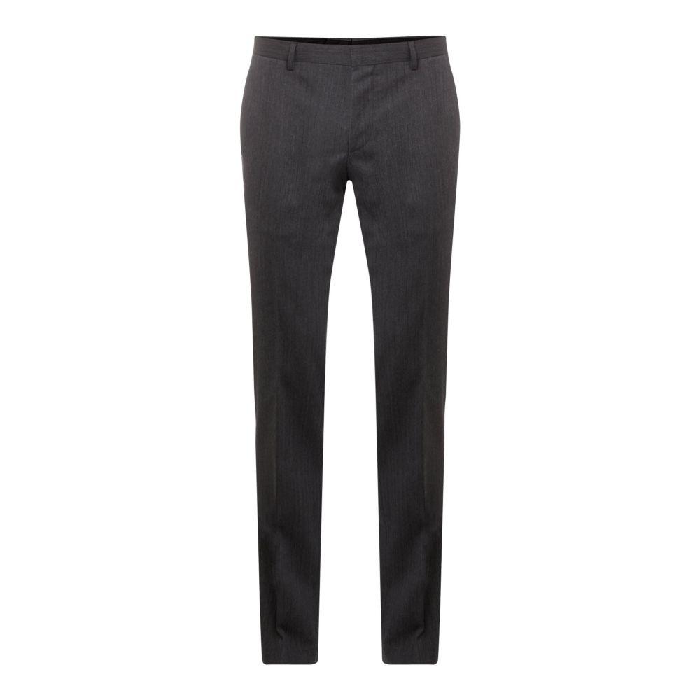 ヒューゴ ボス Hugo メンズ ボトムス・パンツ スラックス【Getlin Slim Herringbone Two-piece Suit Trouser】charcoal