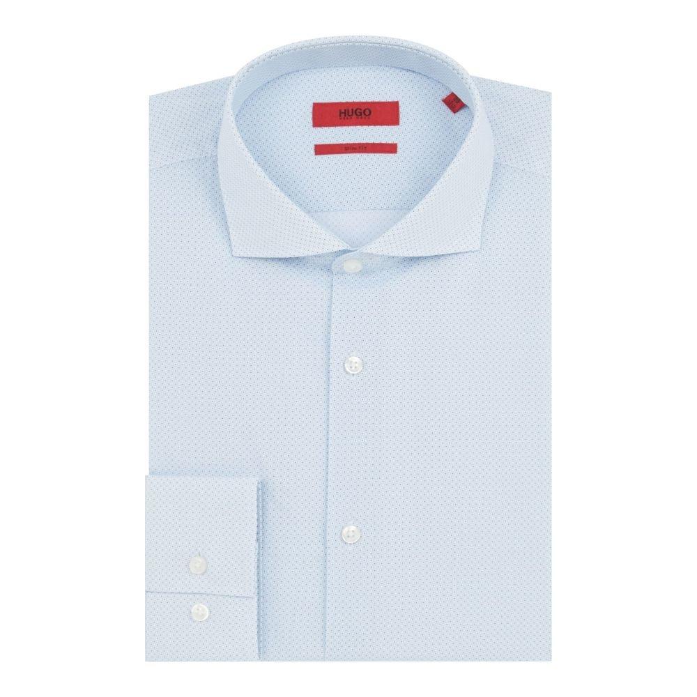 ヒューゴ ボス Hugo メンズ トップス シャツ【Kason Slim Circle Print Shirt】sky