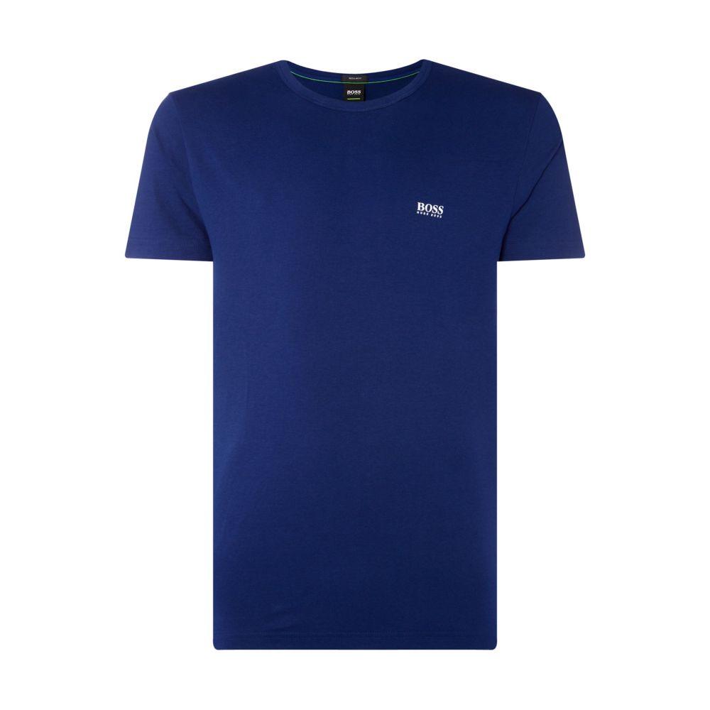 ヒューゴ ボス Hugo Boss メンズ トップス Tシャツ【Crew Neck Regular Fit T-shirt】blue
