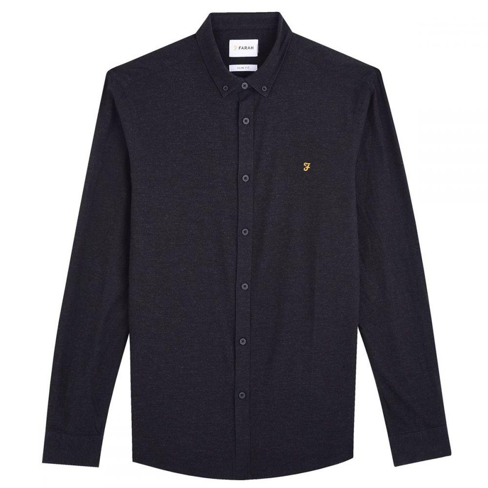 ファーラー Farah メンズ トップス シャツ【Steen Slim Fit Button Down Oxford Shirt】navy