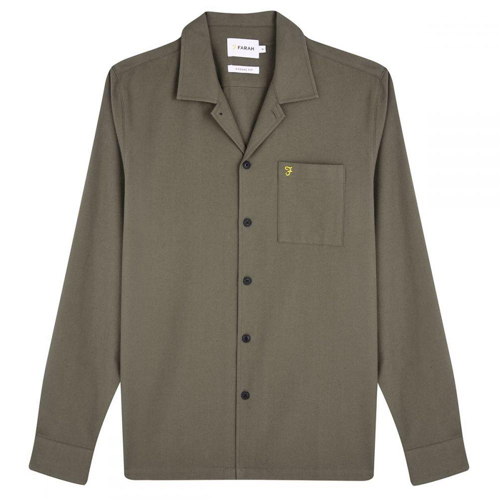 ファーラー Farah メンズ トップス シャツ【Gillespie Long Sleeve Shirt】green