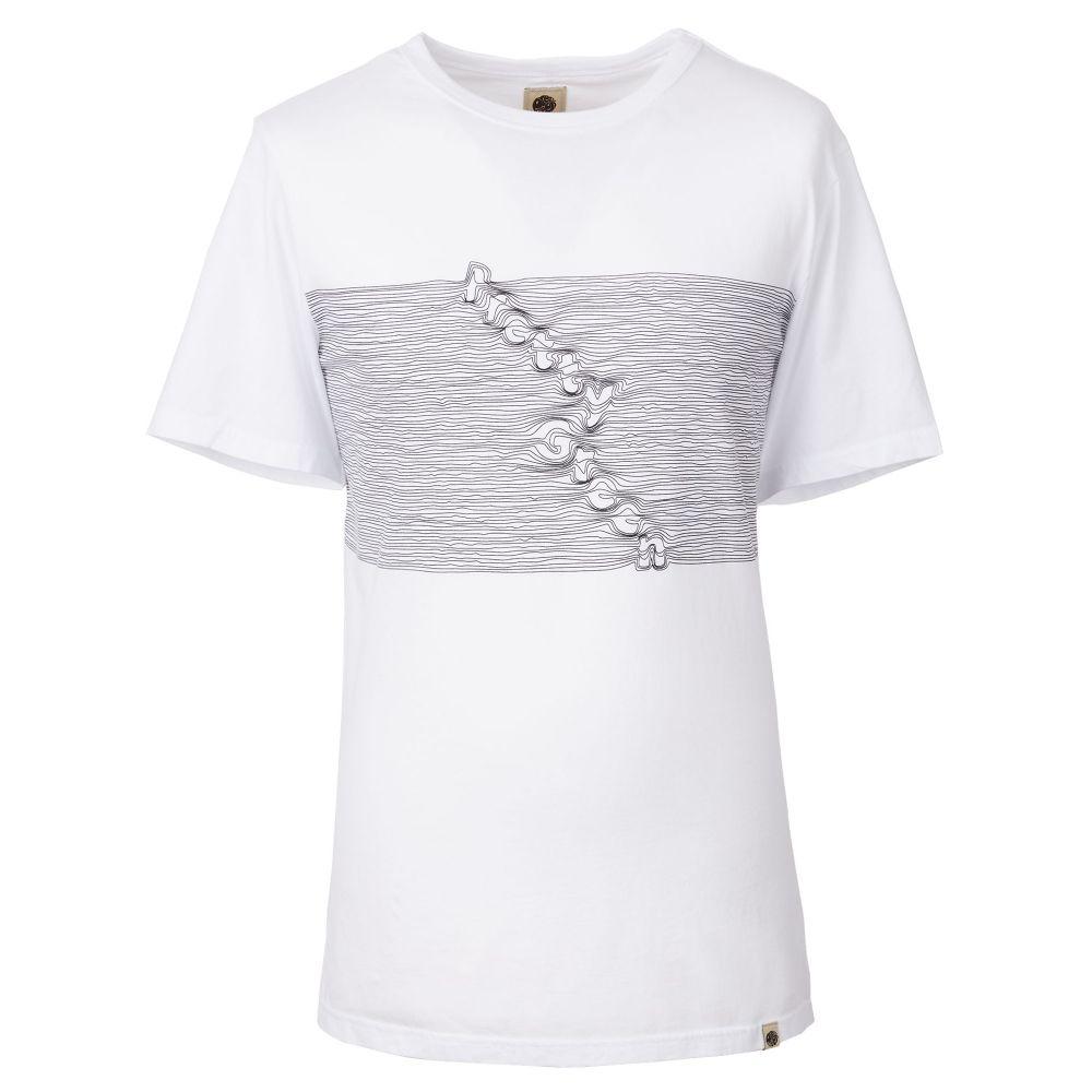 プリティー グリーン Pretty Green メンズ トップス Tシャツ【Print T-shirt】white
