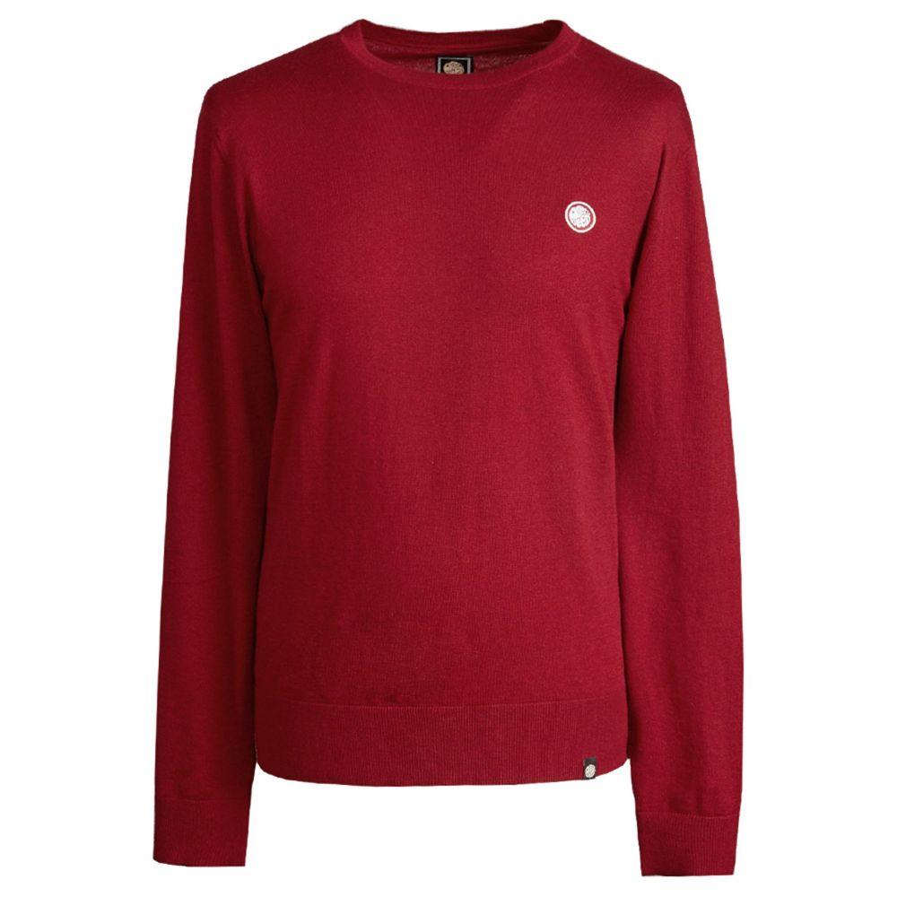 プリティー グリーン Pretty Green メンズ トップス ニット・セーター【Crew Neck Knitted Jumper】red