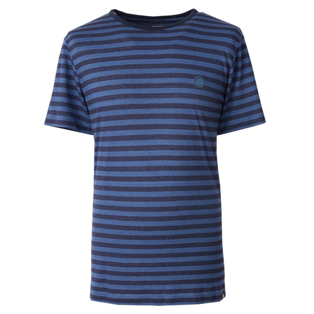プリティー グリーン Pretty Green メンズ トップス Tシャツ【Texture T-shirt】blue