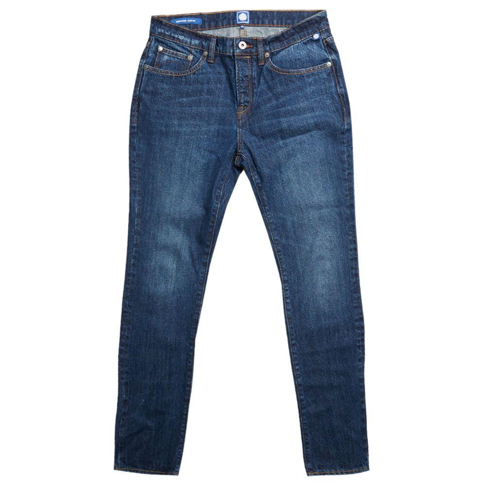 プリティー グリーン Pretty Green メンズ ボトムス・パンツ ジーンズ・デニム【Slim Fit Jeans】blue
