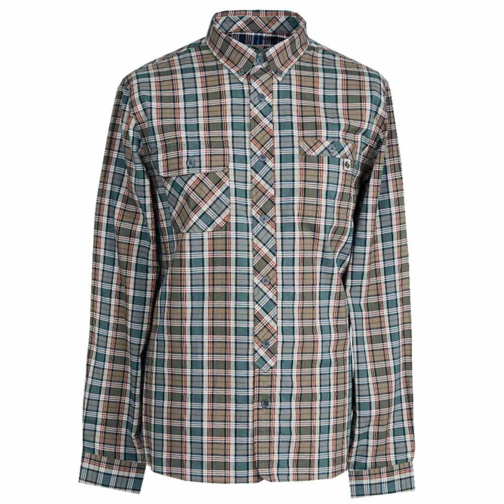 プリティー グリーン Pretty Green メンズ トップス シャツ【Classic Fit Check Shirt】khaki