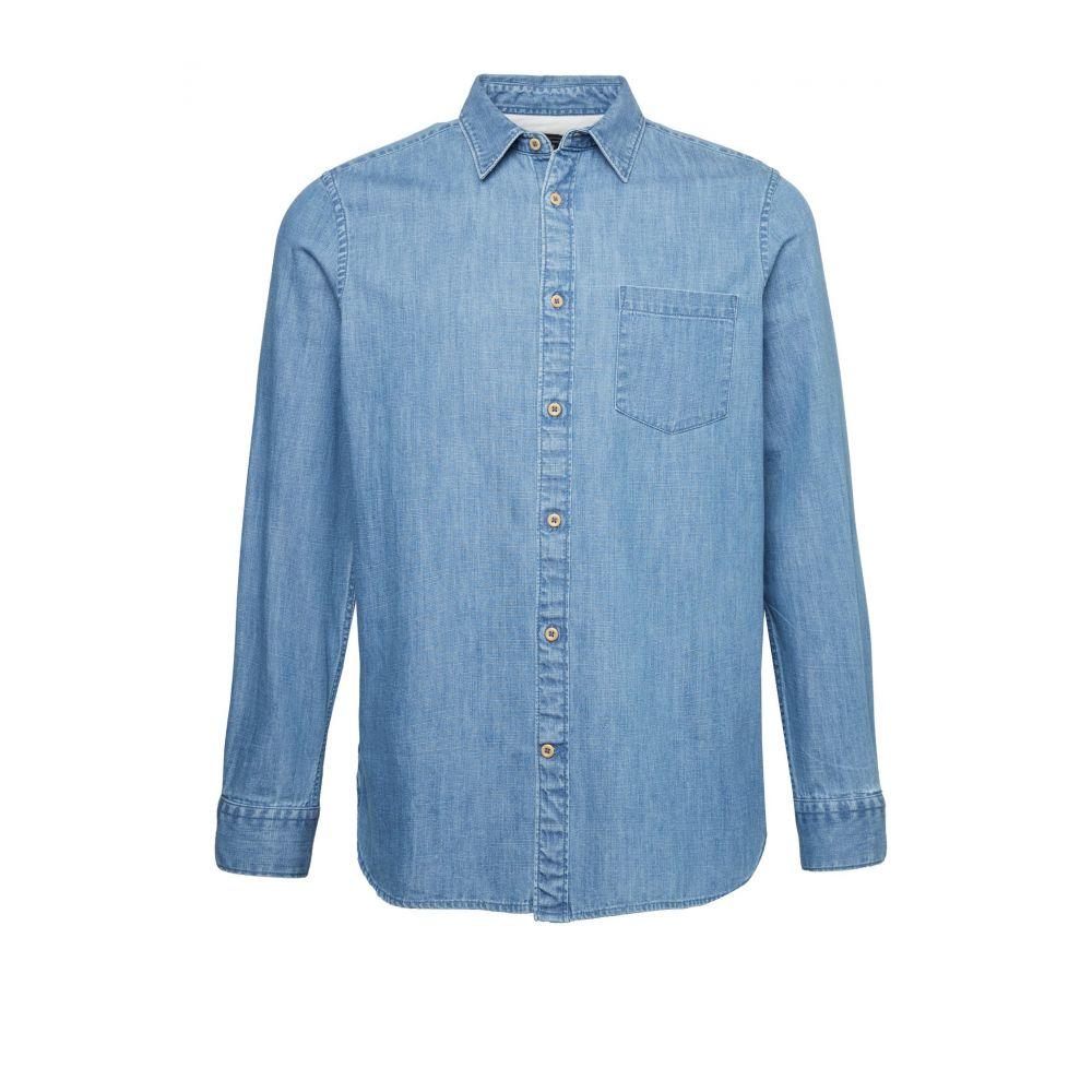 フレンチコネクション French Connection メンズ トップス シャツ【Indigo Denim Shirt】blue