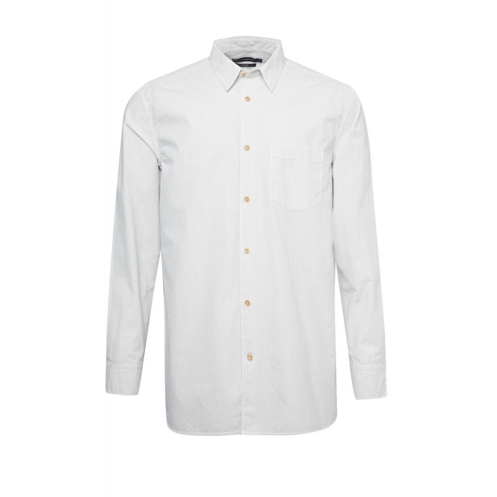 フレンチコネクション French Connection メンズ トップス シャツ【Peach Cotton Shirt】white