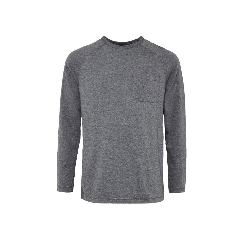 フレンチコネクション French Connection メンズ トップス Tシャツ【Plain Slub Tee】grey